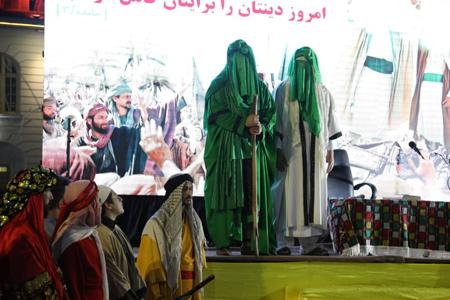 گزارش تصویری برگزاری جشن عیدانه غدیر در پیاده راه فرهنگی شهدای ذهاب(شهرداری رشت)