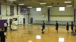 Basketball Shooting Machine - The Gun - by Shoot-A-Way Shot Fake Drill from Different Locations