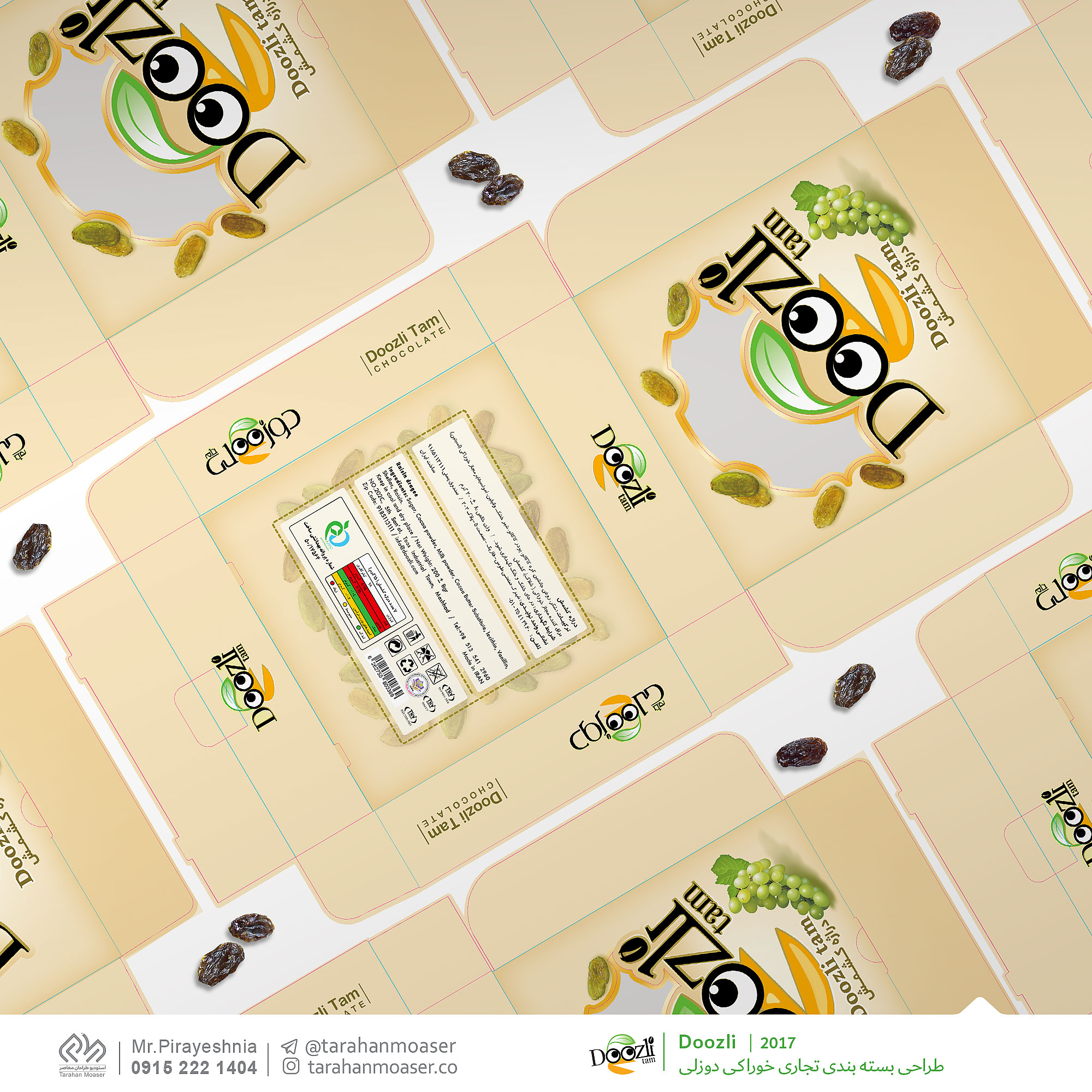 نمونه پروژه های طراحی گرافیک تجاری