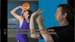 Basketball Shooting Drills & Ball Handling - Conditioning the Hands