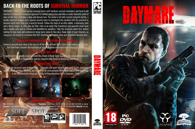 Daymare 1998 Cover