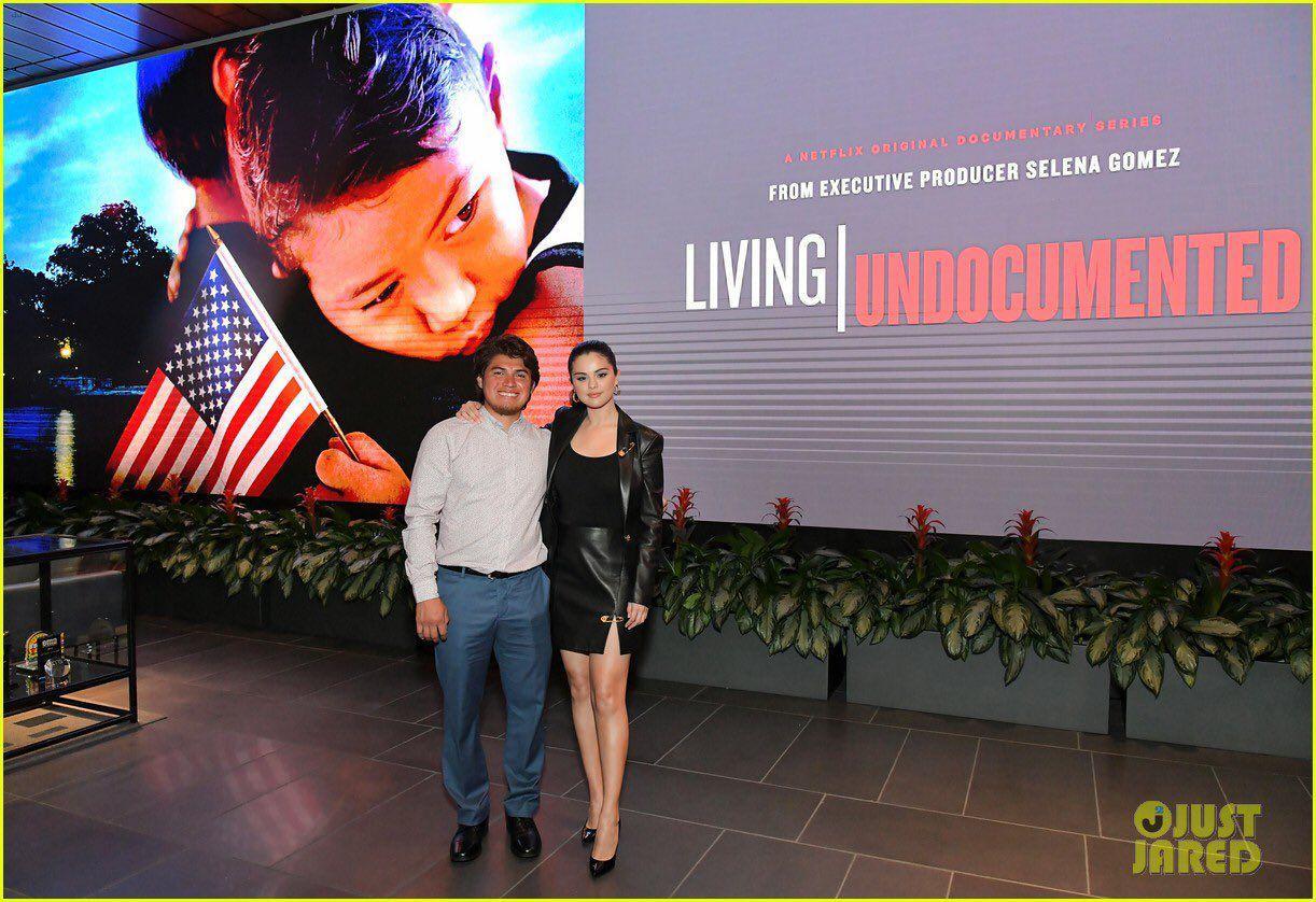 عکس های سلنا درمراسم اکران مستند Living Undocumented
