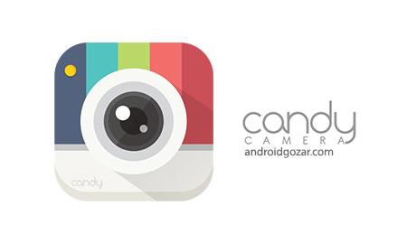 برنامه candy camera برای اندروید