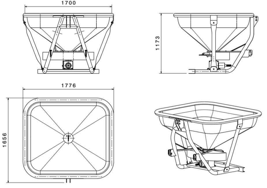 دانلود پروژه طراحی شده کودپاش بذرپاش در نرم افزار کتیا ( catia ) | تلماتو