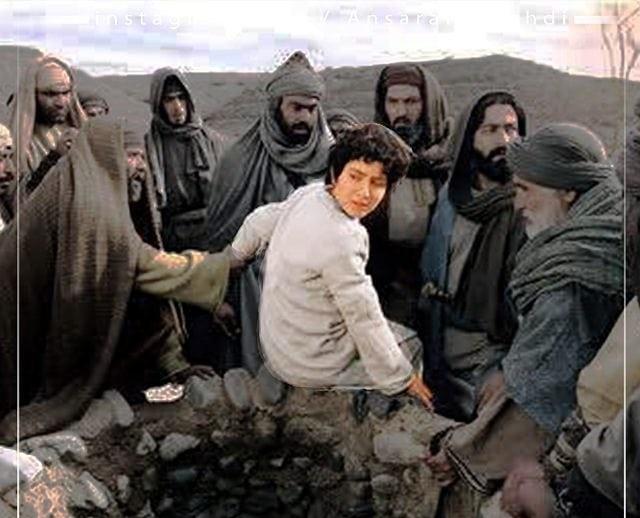 افکندن حضرت یوسف در چاه